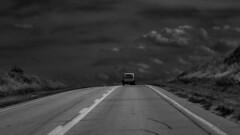 Highway Rat Rod (Tim @ Photovisions) Tags: xt2 ratrod fuji monochrome fujifilm highway blackandwhite nebraska steinauer pickup vintage