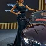 Beautiful presenter for Aston Martin at the 35th Thailand International Motor Expo at IMPACT Challenger Hall in Muang Thong Thani, Nonthaburi thumbnail