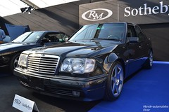 Mercedes E500 1994 (Monde-Auto Passion Photos) Tags: voiture vehicule auto automobile mercedes e500 berline noir black sportive rare rareté vente enchère sothebys france paris vauban