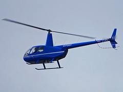 G-FOOT Robinson R-44 (SteveDHall) Tags: aircraft airport aviation airfield aerodrome helicopter blackpool blackpoolairport 2019 bpl blk egnh gfoot robinson r44 robinsonr44