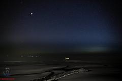 ODN00128_01 (Yannick - L'oeil du nord) Tags: moon lune plage beach mer sea blue bleu etoiles stars