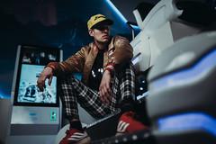 Urban pt 2 (AlexanderHorn) Tags: portrait male dramatic scifi blue portraiture fashion lighting godox sony a7riii