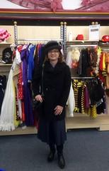Resales (Marie-Christine.TV) Tags: feminine transvestite lady mariechristine leather skirt coat gloves hat hut lederhandschuhe lederrock
