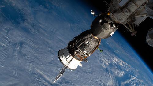 Russia's Soyuz MS-12 crew ship