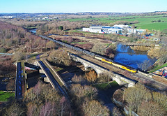 Healey Mills - west end (delticfan) Tags: healeymills 56049 56090 class56 bitumen tanks calder