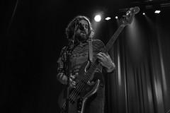 Sven Pipien : bass - The Magpie Salute (samarrakaton) Tags: 2018 rhythmblues rb rock guitarra guitar directo live concert concierto show antzoki bilbao bilbo samarrakaton nikon d750 2470 themagpiesalute byn bw blancoynegro blackandwhite monocromo