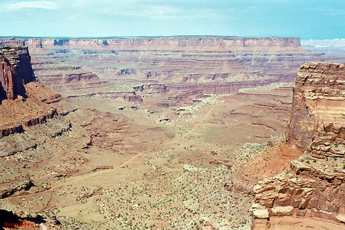 Shafer Canyon, Canyonlands National Park