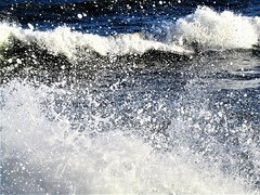 Waves & Spray (Gary Chatterton 5 million Views) Tags: northsea eastcoast scarborough northyorkshire unitedkingdom waves spray tide galeforcewinds water seawater badweather weatherpictures nature natural flickrnature flickr explore canonpowershot photography