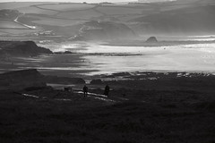 Just another winter's tale (Livesurfcams) Tags: blackrock cornwall bude widemouthbay nikon d800 winter mono