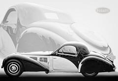 1937 Bugatti Type 57S Gangloff Coupe' (Steve Corey) Tags: 1937bugattitype57sgangloffcoupe bugatti classiccars expensiveautomobiles style class concoursdelegance pebblebeach