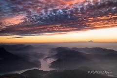 In the fog (PepinAir) Tags: bergueda fog landscape mountains mist sunset sun river berguedà catalonia