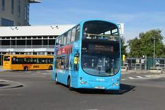 10619 20180929 Arriva Midlands FJ58 KXY (CWG43) Tags: bus uk arrivamidlands volvo b9tl wright fj58kxy