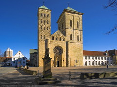 Dom St. Petrus (staetebau) Tags: deutschland germany osnabrück dom cathedral stpetrus stpeter outdoor romanik architektur romanesquearchitecture