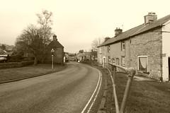 Church St, Bradwell, Derbyshire (dave_attrill) Tags: churchstreet street bradwell derbyshire peakdistrict nationalpark hopevalley village historic cottages february 2019 winter sepia
