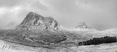 The Highlands ... (Mike Ridley.) Tags: buachailleetivemor buachailleetivebeag glencoe scotland scottishhighlands snowstorm sonya7r2 panorama mikeridley