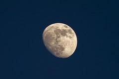 Mondphasenfotografie... (Siegfried Platzer) Tags: himmel abendhimmel mond