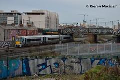 22003 at Newcomen Jctn, 11/2/19 (hurricanemk1c) Tags: railways railway train trains irish rail irishrail iarnród éireann iarnródéireann 2019 22000 rotem icr rok 3pce 22003 dublin newcomenjctn 1635m3parkwaydocklands