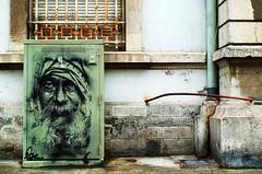 Portrait (Atreides59) Tags: rhone rhône lyon france graff graffiti urban street visage face tag urbain pentax k30 k 30 pentaxart atreides atreides59 cedriclafrance