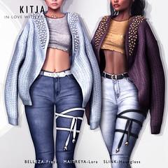 KITJA - Nefeli (ᴋɪᴛᴊᴀ) Tags: fashion kustom9 maitreya maitryalara belleza bellezafreya slink slinkhourglass 3d meshbody fittedmesh kitja spiritkitja