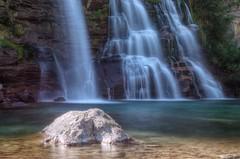 Cascata Piumogna (Tjaldur66) Tags: water waterfall switzerland southernswitzerland cascatapiumogna lake pond rock longtimeexposure hdr tonemapping outdoor hiking alpine