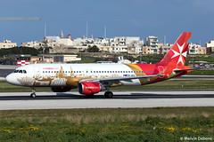 Air Malta Airbus A320-214  |  9H-AEO  |  LMML (Melvin Debono) Tags: air malta airbus a320214 | 9haeo lmml cn 2768 airmaltacom melvin debono spotting canon eos 5d mark iv 100400mm plane planes photography airport airplane aircraft mla