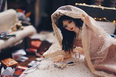 Illness IV (AzureFantoccini) Tags: bjd abjd doll dollhouse zaoll dollmore luv balljointeddoll room dollroom miniature diorama bedroom
