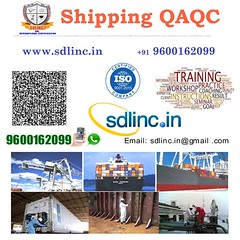 16 shipping qaqc sdlinc quality control training 9600162099 (sdlincqualityacademy) Tags: coursesinqaqc qms ims hse oilandgaspipingqualityengineering sixsigma ndt weldinginspection epc thirdpartyinspection relatedtraining examinationandcertification qaqc quality employable certificate training program by sdlinc chennai for mechanical civil electrical marine aeronatical petrochemical oil gas engineers get core job interview success work india gulf countries