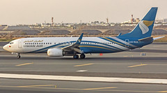 Oman Air Boeing B737-800 A4O-BAG Muscat (MCT/OOMS) (Aiel) Tags: omanair boeing b737 b737800 a4obag muscat canon60d tamron70300vc