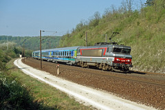 15019 Willeroncourt (Gridboy56) Tags: sncf bb15019 europe electric railways railroad trains train locomotive locomotives coaches coach express paris strasbourg 1001 willeroncourt
