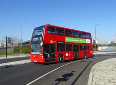 GAL E233 - YX61DSY - COMMERCIAL WAY EAST GREENWICH - TUE 26TH FEB 2019 (Bexleybus) Tags: commercial way east greenwich se10 bq ikea adl dennis enviro 400 goahead go ahead london tfl route 486 e233 yx61dsy
