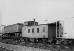 CB&Q Waycar Class NE-10 13515 (Chuck Zeiler 48Q) Tags: cbq waycar class ne10 13515 burlington railroad caboose napervilee train chuckzeiler chz