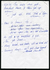 Premier Anna Bligh's notes for press conferences during 2011 floods, 2011 (Queensland State Archives) Tags: 11481 1476742 2011 flood flooding queensland brisbane bligh premier premierofqueensland conference speech notes speechnotes pressconference 2011floods 2010s queenslandpremier queenslandparliament naturaldisaster historicaldocument