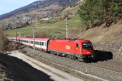 ÖBB 1216 011-7 Eurocity, Mühlbachl (TaurusES64U4) Tags: öbb 1216 eurocity taurus es64u4