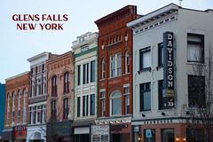 An Evan Post Card: Glens Falls, N.Y. (Evan Lowenstein) Tags: glensfalls downtown upstatenewyork upstateny newyork newyorkstate adirondacks adirondackpark lakegeorge mainstreet
