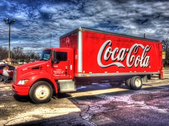 Coca-Cola truck (mrgraphic2) Tags: cocacola truck indianapolis indiana red