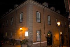 Palacio y calle del Principe de Anglona de noche Madrid (Rafael Gomez - http://micamara.es) Tags: palacio y calle del principe de anglona noche madrid