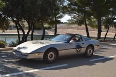 CHEVROLET Corvette C4 Coupé - 1984 (SASSAchris) Tags: chevrolet corvette c4 coupé 2 tours dhorloge castellet circuit ricard voiture américaine