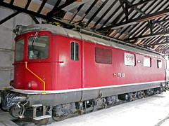 SBB Re 4/4 I 10034, Restaurierung Koblenz (michaelgoll777) Tags: re44 sbb