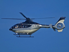 G-HOLM Eurocopter EC135 (SteveDHall) Tags: aircraft airport aviation airfield aerodrome helicopter horseracing aintreeracecourse aintree grandnational 2019 generalaviation ga gholm eurocopter ec135 eurocopterec135 ec35