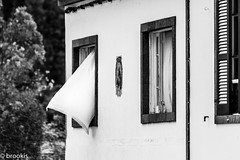 A Slight Breeze (brookis-photography) Tags: furnas azores sãomiguel house curtain breeze breezy building window