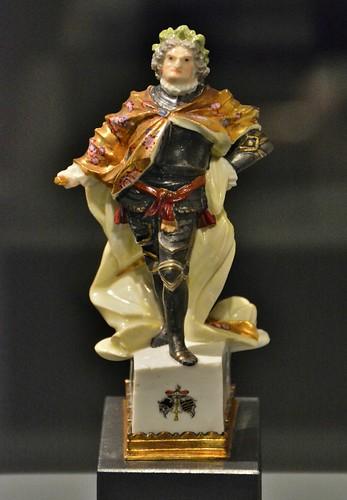 The King of Porcelain, Augustus II (Augustus the Strong), Gardiner Ceramic Museum, Toronto, ON
