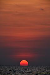 Sunset at Tonle Sap – 6 of 6 [Explored] (Roy Prasad) Tags: tonlesap lake water reflection sunset prasad royprasad cambodia travel sony a7rm3 sun landscape