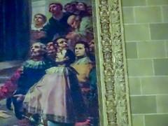 autorretrato de Goya Capilla San Bernardino de Siena ante Alfonso V de Aragón de Goya interior Real Basilica de San Francisco el Grande Madrid (Rafael Gomez - http://micamara.es) Tags: autorretrato de goya capilla san bernardino siena ante alfonso v aragón interior real basilica francisco el grande madrid