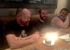 IMG_7609 (danimaniacs) Tags: cake candles man guy beard scruff