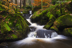 Wyming Brook #1 (MDJL Landscapes) Tags: wymingbrook peakdistrict nationalpark flowingwater river scenic nikon landscapephotography longexposure green woodland