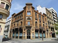 Manuel Nogueira House* (fmr), Seville, Spain (geoff-inOz) Tags: aníbalgonzález seville neomudéjar architecture heritage building historic andalusia spain manuelnogueira sevilla
