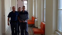 Jiří Meidl 1 (Kluci v nesnázích) Tags: accused criminal court handcuffs jail prison inmate