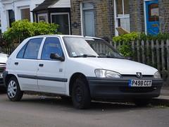1997 Peugeot 106 Kid (Neil's classics) Tags: vehicle 1997 peugeot 106 kid 1242cc