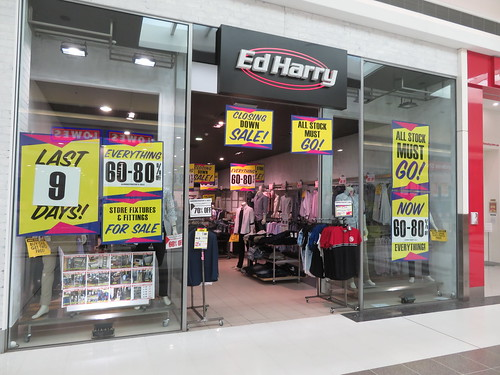 Ed Harry Colonnades (Noarlunga) closing down