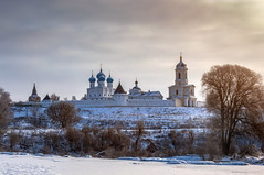 В зимних красках! (Павел Ныриков) Tags: природа пейзаж монастырь архитектура зима рассвет река